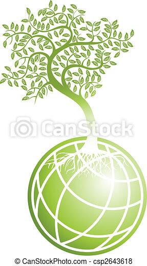 Tierra verde - csp2643618