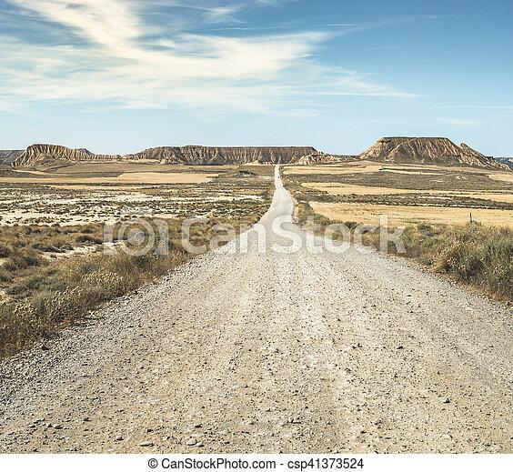 Camino salvaje oeste - csp41373524