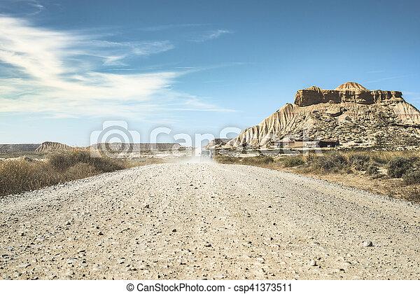 Camino salvaje oeste - csp41373511