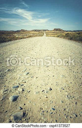 Camino de tierra del oeste salvaje - csp41373527