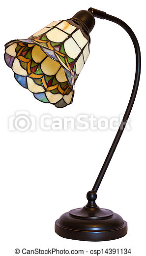 Tiffany stained glass table lamp tiffany stained glass stock tiffany stained glass table lamp csp14391134 aloadofball Choice Image