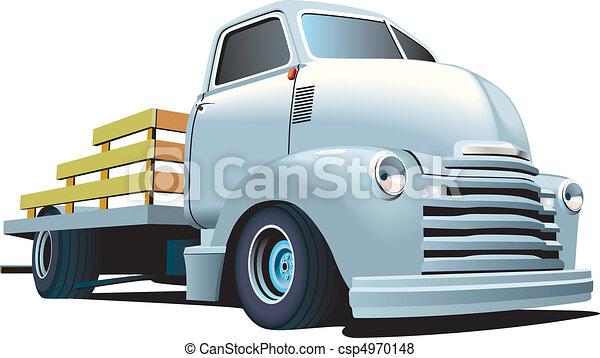 tige, chaud, camion - csp4970148