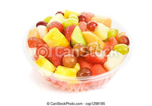 tigela fruta, salada - csp1298185