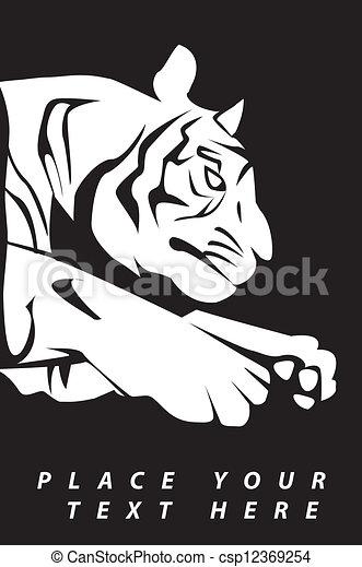 tiger - csp12369254