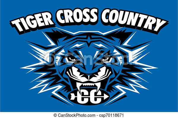 tiger cross country - csp70118671