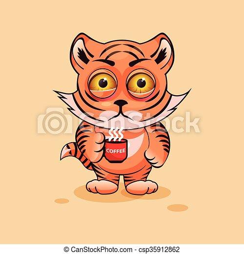 Tiger cub nervous