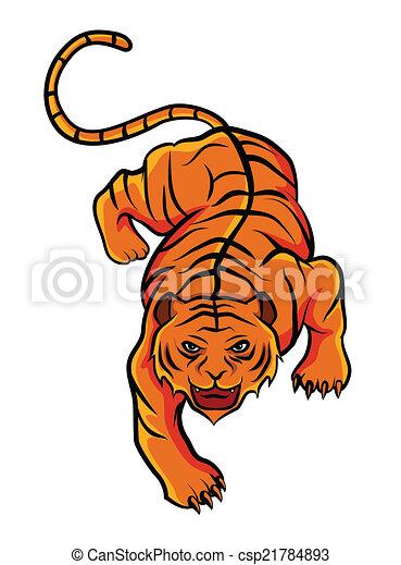 Tiger - csp21784893