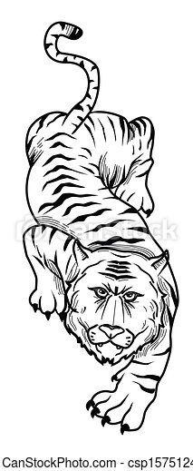 tiger - csp15751244