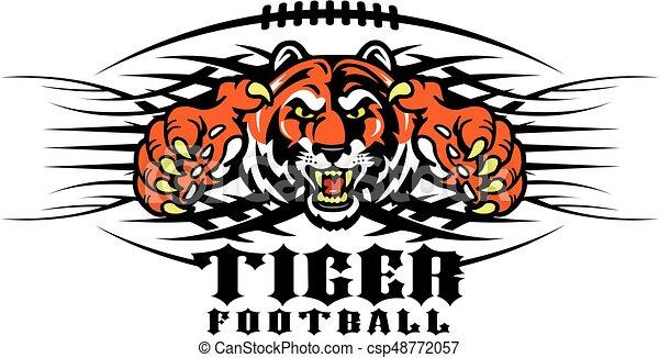 tiger football - csp48772057