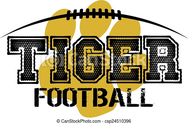 tiger, football - csp24510396