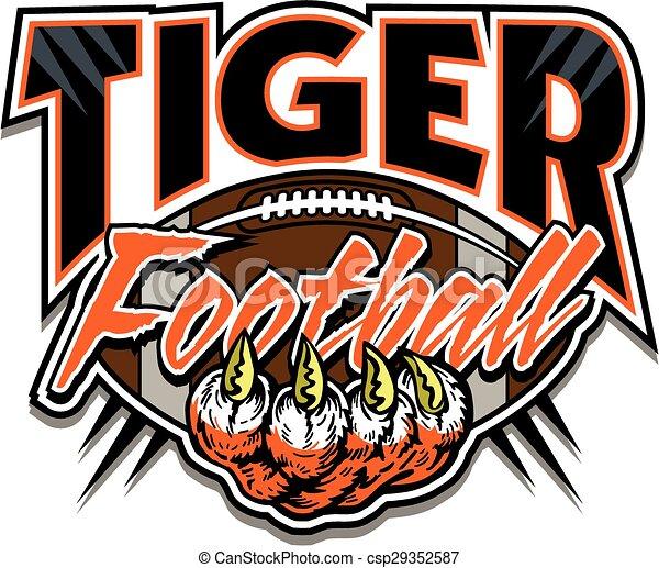 tiger football - csp29352587