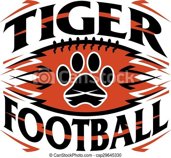tiger football - csp29645330