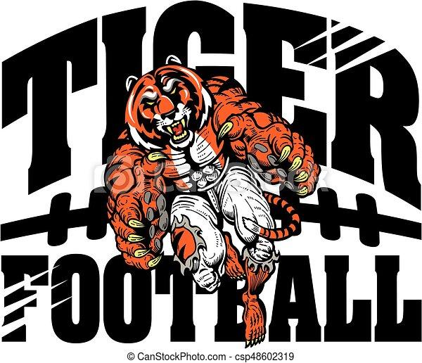 tiger football - csp48602319