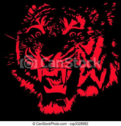 Tiger - csp3328982