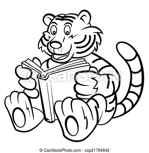 Readig A Tiger Book