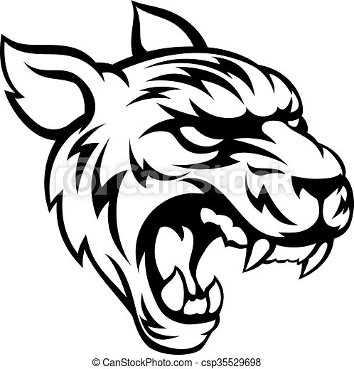 tiger mean animal mascot an illustration of a tiger animal eps rh canstockphoto com clemson tiger mascot clipart clemson tiger mascot clipart