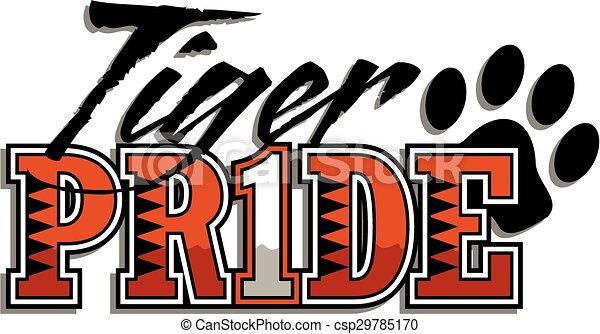 tiger pride - csp29785170