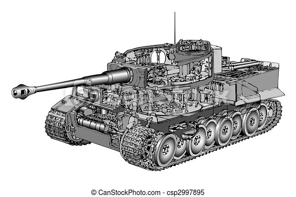 tiger, zbiornik - csp2997895