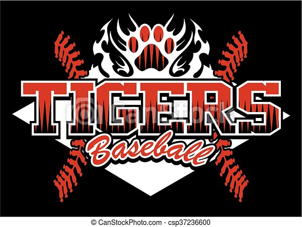 tigers baseball - csp37236600