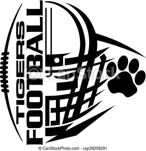 tigers football - csp39209291