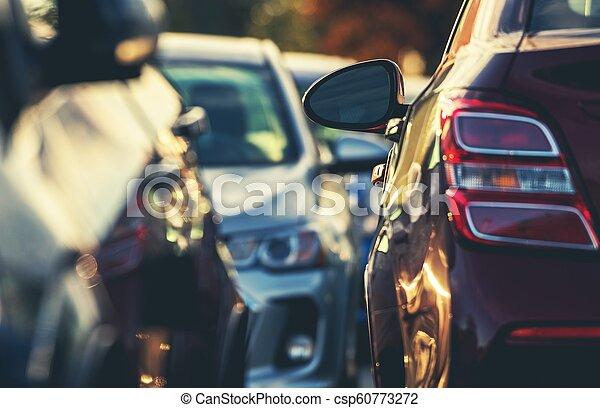 Tight Car Parking Space - csp60773272