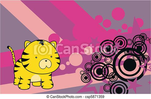 Libros infantiles de Tigre 7 - csp5871359