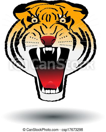 Furia de tigre - csp17673298