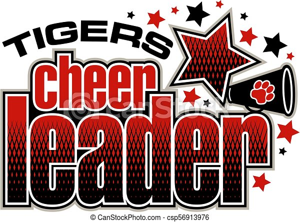 tigre, cheerleader - csp56913976