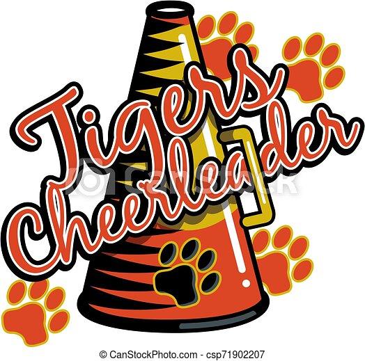 tigre, cheerleader - csp71902207