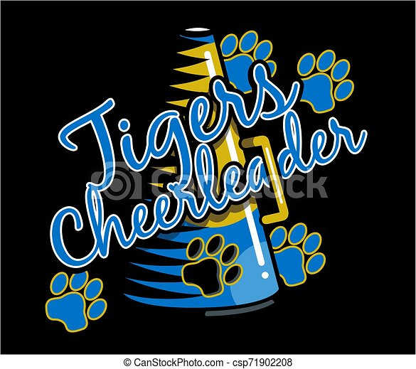 tigre, cheerleader - csp71902208