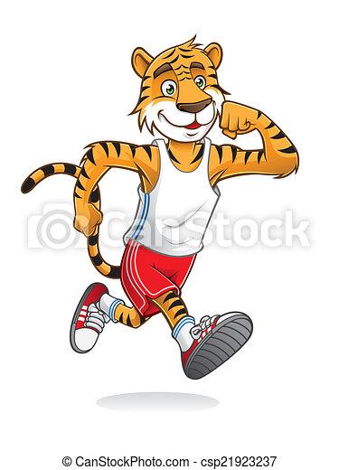 Tiger Runner - csp21923237