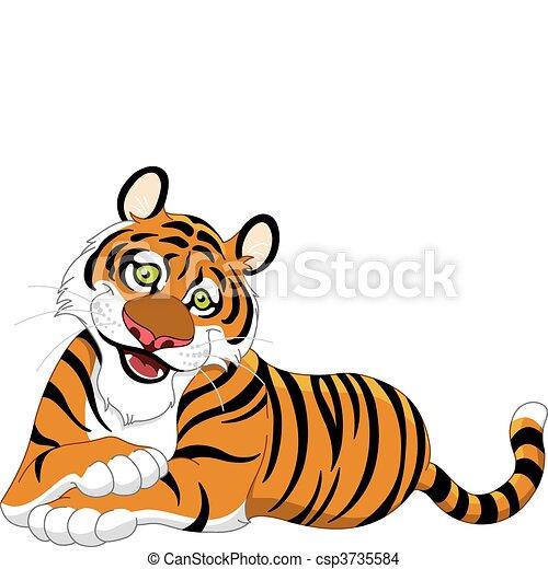 Tigre - csp3735584
