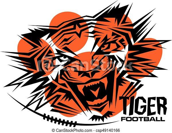 Fútbol de tigre - csp49140166