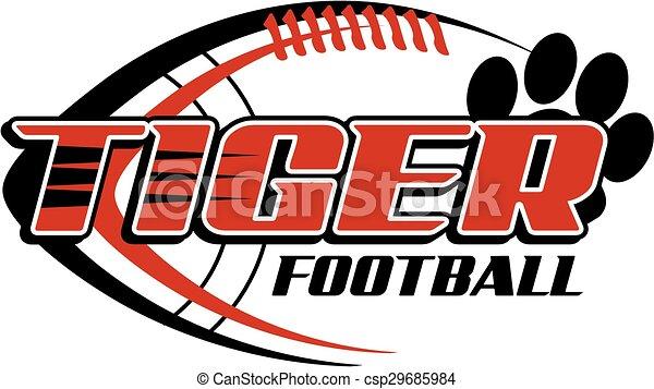 Fútbol de tigre - csp29685984