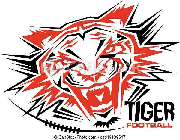 Fútbol de tigre - csp49139547