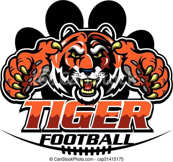 Fútbol de tigre - csp31415175