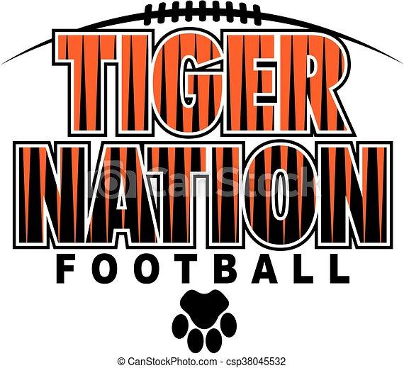 Fútbol de tigre - csp38045532