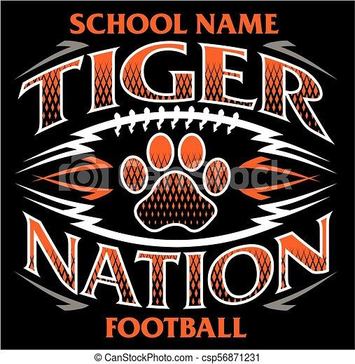 tigre, football, nation - csp56871231