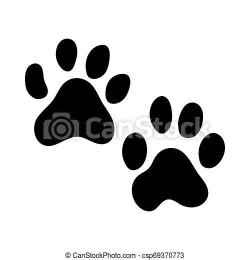 Huellas de tigre - csp69370773