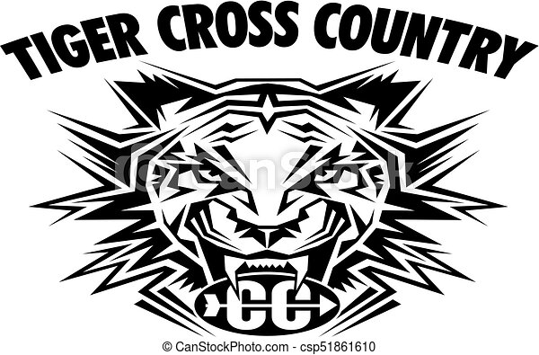 Tiger cruza el país - csp51861610