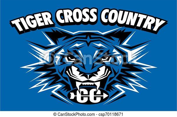 Tiger cruza el país - csp70118671