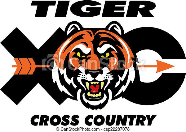 Tiger cruza el diseño del país - csp22287078