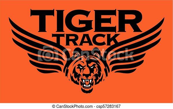 La pista del tigre - csp57283167