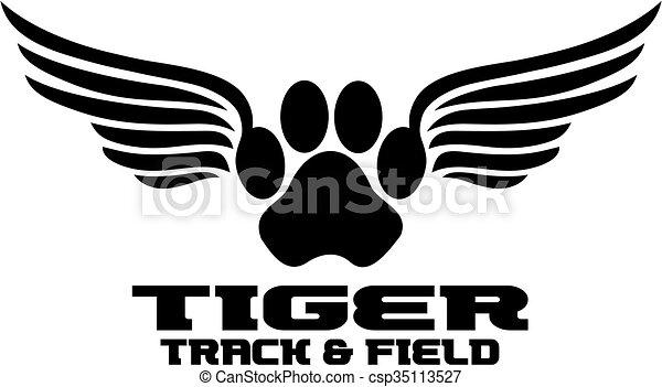 La pista del tigre - csp35113527