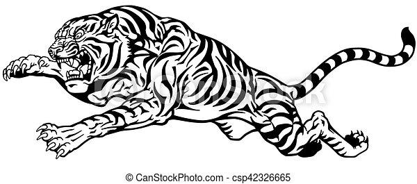 Dessin Tatouage Tigre Blanc Kolorisse Developpement