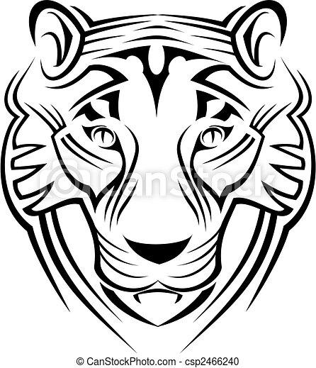 tigre, señal - csp2466240