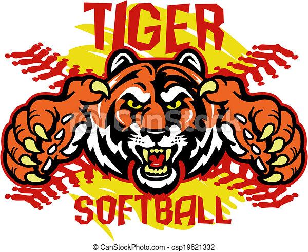 tigre, softball - csp19821332