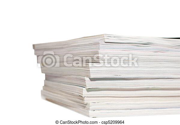 tijdschriften, hoop - csp5209964