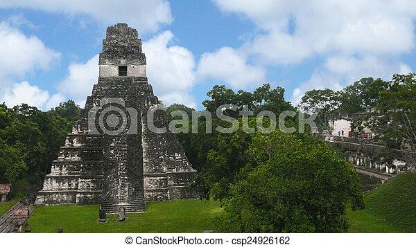 tikal., guatemala - csp24926162