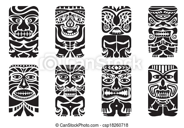 Tiki Illustrations and Clipart. 1,794 Tiki royalty free ...